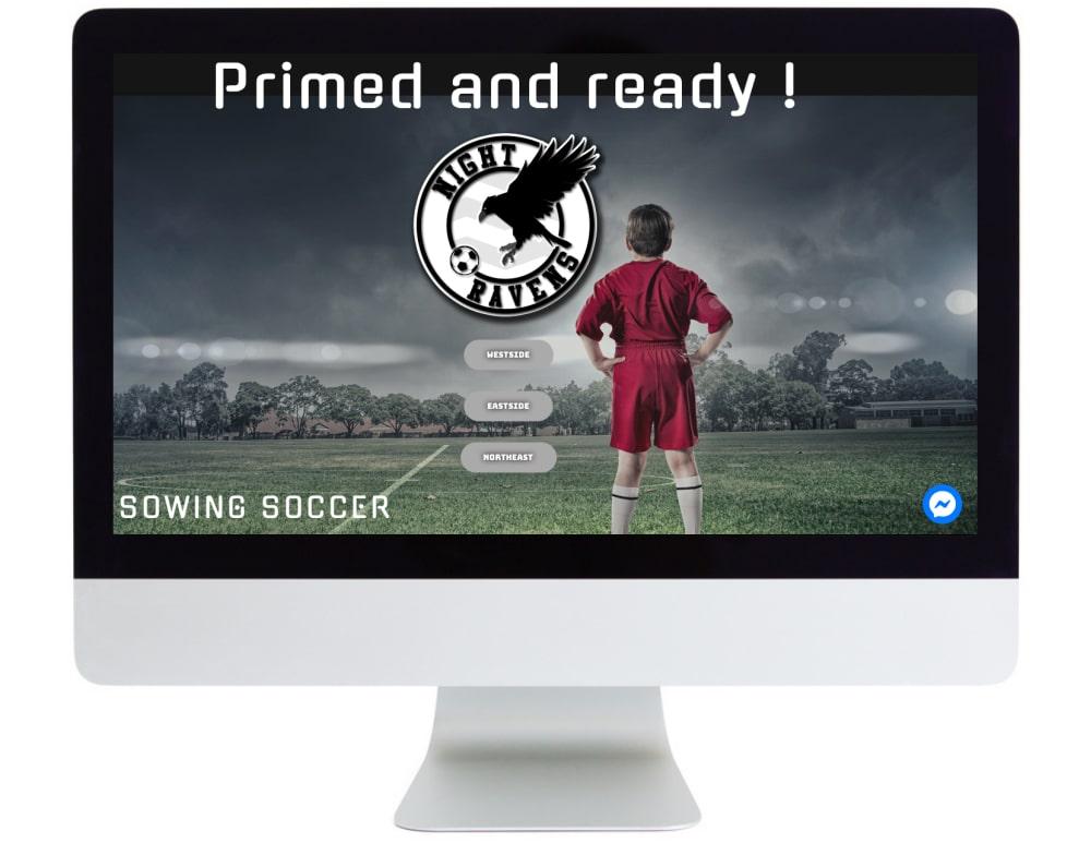Soccer Ravens Screen